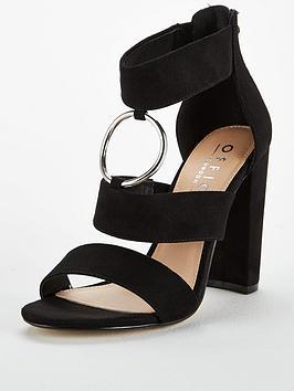 Office Habibi Heeled Sandal - Black