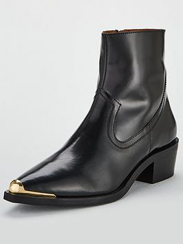 Office Acoustic Ankle Boot - Black