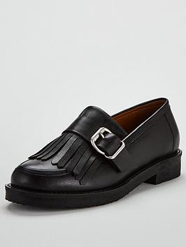 Office Fisher Chunky Loafer - Black