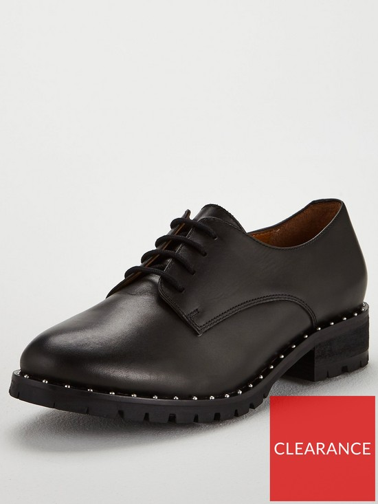 OFFICE Kennedy Lace Up Brogues - Black  bbf24bf8738