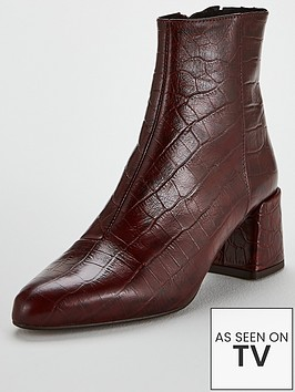 office-alexia-ankle-boot-red