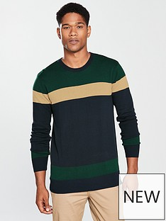 v-by-very-crew-neck-block-knit