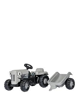 rolly-toys-rolly-kid-little-grey-fergie-tractor-trailer
