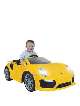 injusa-porsche-911-turbo-s-6-volt-car