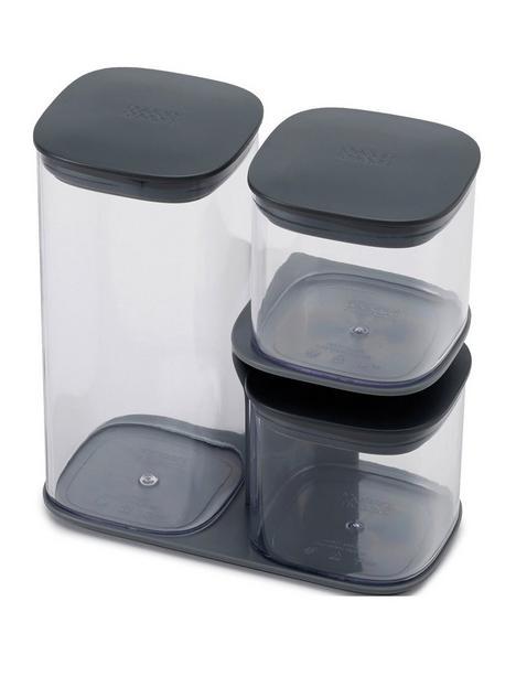 joseph-joseph-podium-3-piece-storage-jar-set-with-stand