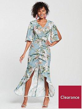 river-island-printed-ruched-detail-maxi-dress-light-blue