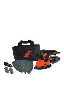 black-decker-ka2000-gb-120-watt-mouse-sander-with-storage-bag-and-6-accessories