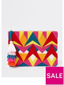 river-island-patterned-clutch-bag-pink-multi