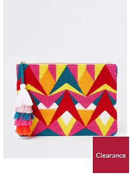 river-island-patterned-clutch-bag-pink-multi