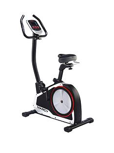 Marcy Onyx B80 Upright Exercise Bike with Tablet Phone Holder
