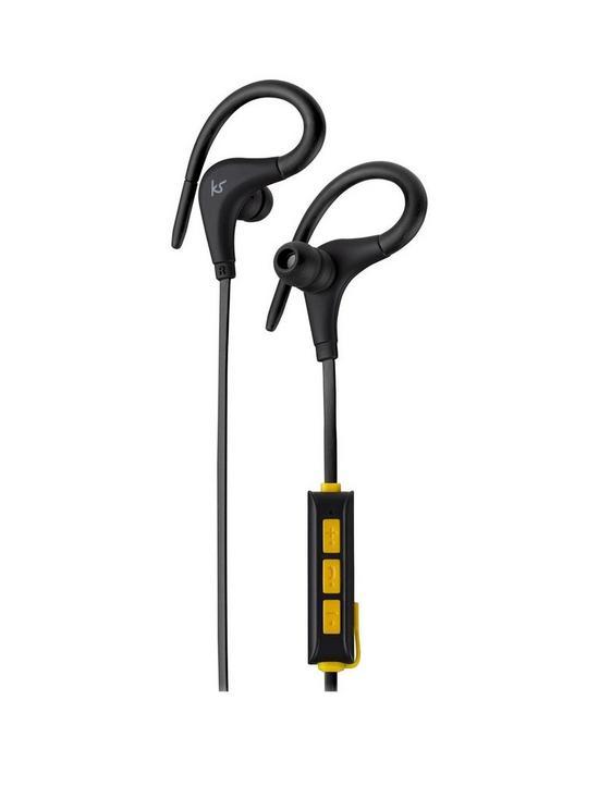 e4210834c4e Kitsound Race Wireless Bluetooth Sports Hook In-Ear Headphones with ...
