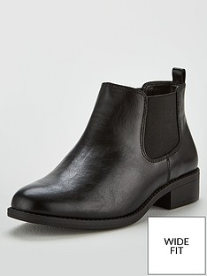 v-by-very-wide-fit-francesca-flat-chelsea-boot-black