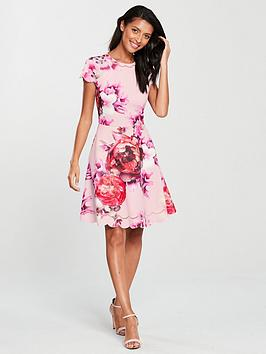 ted-baker-seeana-splendour-skater-dress