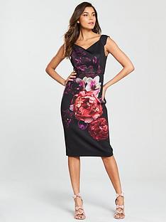 Ted baker dresses ted baker maxi dresses very ted baker semanj splendour print bodycon mightylinksfo