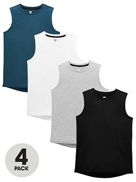 v-by-very-boys-pack-of-4-coloured-vests-multi