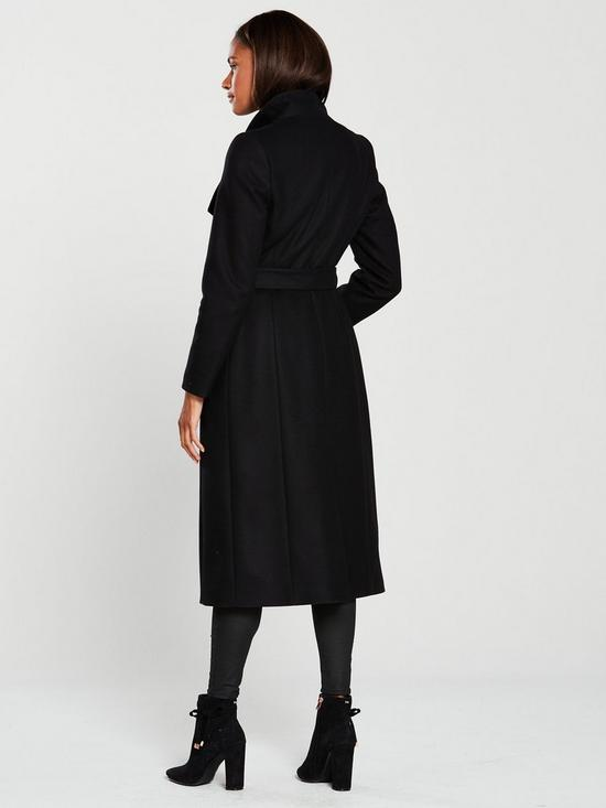 23fd70cf17a9b Ted Baker Sandral Extra Long Wrap Coat - Black