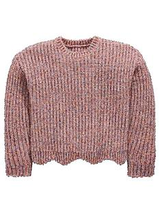 mini-v-by-very-girls-sparkle-pink-scallop-hem-jumper