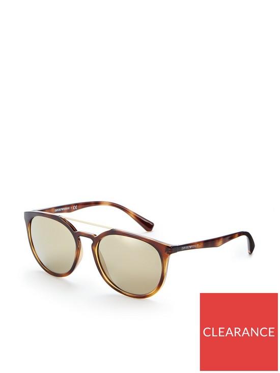 fcdb41e8e48a Emporio Armani Havana Sunglasses   very.co.uk