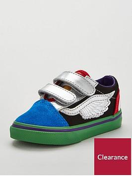 vans-old-skoolnbspx-marvel-avengers-toddler-trainers-bluegreenred