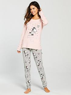 snoopy-snow-fun-pyjama-set-pink-grey