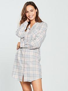 v-by-very-flannel-nightdress-checkednbsp