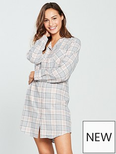 v-by-very-flannel-nightdress-checkednbsp
