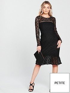 v-by-very-petite-drop-hem-lace-dress-blacknbsp