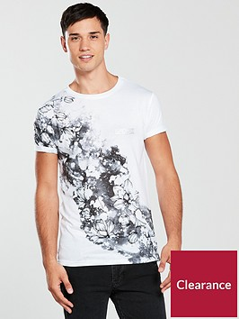 river-island-white-floral-splatter-slim-fit-t-shirt
