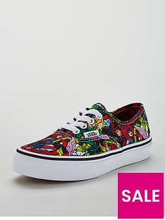 vans-vans-authentic-marvel-multi-junior-trainer