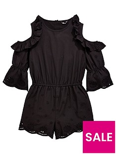 v-by-very-girls-cold-shoulder-frill-playsuit