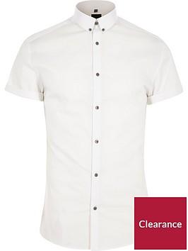 river-island-big-and-tall-stretch-poplin-shirt
