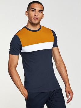 river-island-ss-blocked-muscle-pique-tee