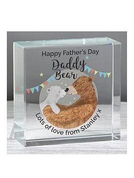 personalised-father039s-day-daddy-bear-medium-crystal-token