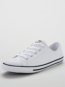 Converse Chuck Taylor All Star Dainty Leather Ox - White