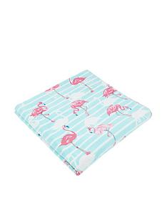 monsoon-flossie-flamingo-towel