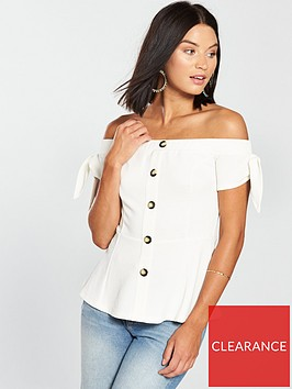 v-by-very-bardot-button-front-top--nbspivory