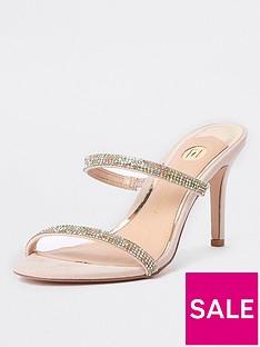 river-island-river-island-gem-embellished-heeled-sandal--beige