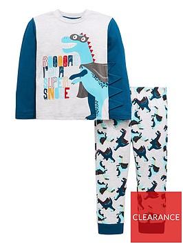 mini-v-by-very-boys-roar-im-a-super-snore-dinosaur-pyjamas-multi