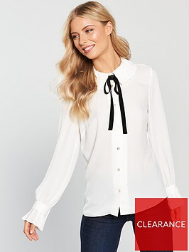 v-by-very-pleated-high-neck-blouse-ivorynbsp