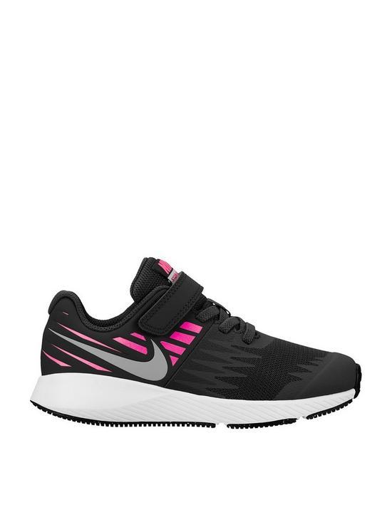 c32332b37d Nike Star Runner Childrens Trainer - Black/Pink | very.co.uk