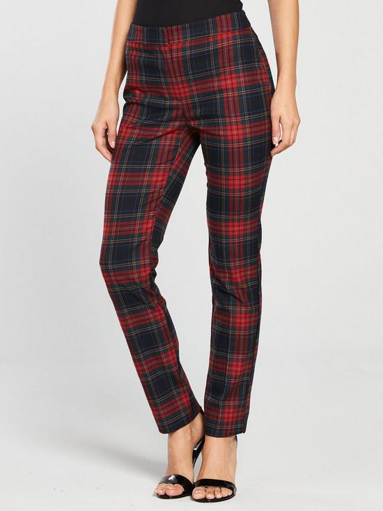 07702a8f59c2 V by Very Tartan Check Trouser - Printed | very.co.uk
