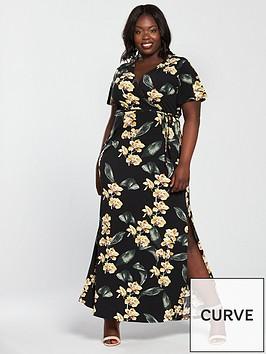 v-by-very-curve-jersey-wrap-maxi-dress-print