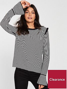 boss-casual-idindy-stripednbspjumper-with-ruffled-details