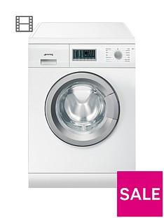 Smeg WDF147 7kg Wash,4kgDry, 1400 Spin Freestanding Washer Dryer - White
