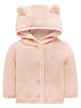 mini-v-by-very-baby-girls-soft-knit-jersey-lined-hooded-cardigan-with-3d-ears-pink