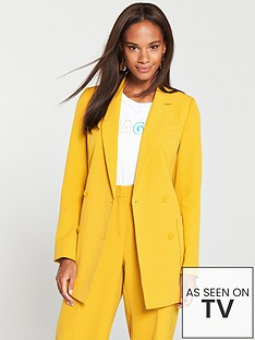 v-by-very-db-blazer-mustard