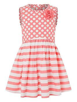 monsoon-spot-stripe-dress