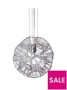 luxe-collection-lexi-silver-pendant-light