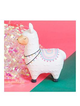white-llama-money-box