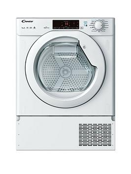 Candy Cbtd H7A1Te 7Kg Load Integrated, Smart Touch Heat Pump Tumble Dryer - Dryer Only